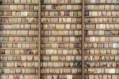 Hölzernes Dach lizenzfreie stockfotografie