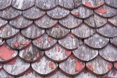Hölzernes Dach Stockfotos