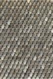 Hölzernes Dach - alte traditionelle Methode für die Überdachung - überdachen Sie Schindeln lizenzfreies stockbild