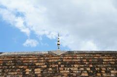 Hölzernes Dach des Schongebiets Lizenzfreies Stockfoto