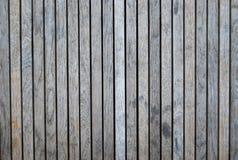 Hölzernes Deckinggrau in der Farbe Stockfotografie