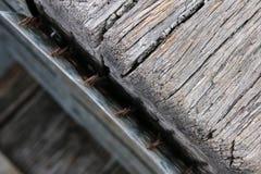 Hölzernes Detail Stockfotografie