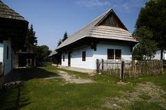 Hölzernes Dorf Lizenzfreies Stockfoto