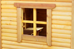 Hölzernes Fenster Stockbild