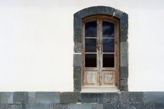 Hölzernes Fenster Lizenzfreies Stockfoto