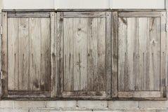 Hölzernes Fenster Lizenzfreie Stockbilder