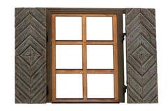 Offenes fenster von außen  Offenes Fenster Mit Den Fensterläden Lokalisiert Lizenzfreie ...