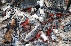 Hölzernes Feuer Stockfotografie