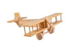 Hölzernes Flugzeugspielzeug Stockbilder