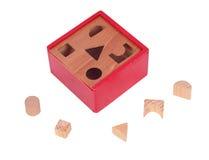 Hölzernes Formspielzeug Stockbilder