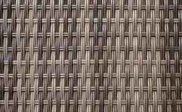 Hölzernes Gitter, der Hintergrund des gesponnenen Holzes Lizenzfreie Stockfotografie