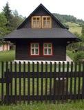 Hölzernes Haus stockbilder