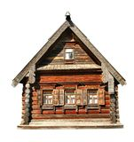 Hölzernes Haus Lizenzfreies Stockfoto