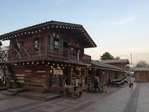 Hölzernes Haus in Thailand Stockfotografie
