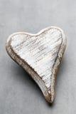 Hölzernes Herz geformt Vektor eingestellt: Stilvolle 2014 Pferde Valentine& x27; s-Tagesgruß Stockfoto
