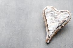 Hölzernes Herz geformt Vektor eingestellt: Stilvolle 2014 Pferde Valentine& x27; s-Tagesgruß Lizenzfreie Stockbilder