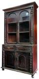 Hölzernes Kabinett der antiken asiatischen Art von Thailand lokalisierte auf whi Lizenzfreies Stockbild