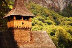 hölzernes Kloster Lizenzfreie Stockbilder