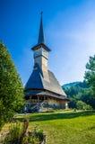 Hölzernes Kloster Barsana, Maramures, Rumänien Lizenzfreie Stockfotos