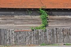 Hölzernes Lager Stockfoto