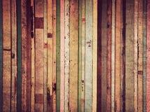 Hölzernes Material für Weinlesetapete Stockfoto