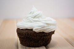Hölzernes Muffin Stockfotos