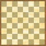 Hölzernes Muster des hölzernen Schachbrettes Stockfotos