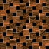 Hölzernes Parkett, lamellenförmig angeordneter Bodenbelag stockfotos