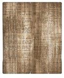 Hölzernes Pergament-Hintergrund-Zeitungspapier lizenzfreie stockbilder