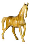 Hölzernes Pferd. lizenzfreie stockbilder