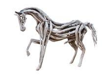 Hölzernes Pferd Stockfoto