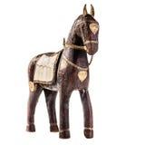 Hölzernes Pferd stockbilder