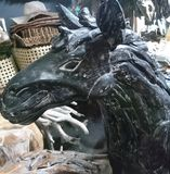 Hölzernes Pferd Lizenzfreie Stockfotografie