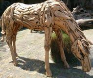 Hölzernes Pferd Lizenzfreies Stockfoto