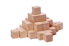Hölzernes Puzzlespiel Stockfoto