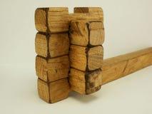Hölzernes Puzzlespiel Lizenzfreies Stockfoto