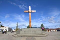 Hölzernes Quer-San Cristobal Lizenzfreie Stockbilder