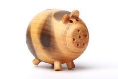 Hölzernes Schwein Stockfotos