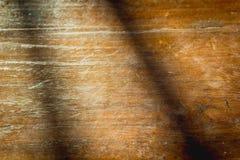 Hölzernes Wandsonnenlicht Stockbild