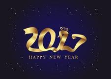 Hönaasiat för nytt år 2017 Vektor Illustrationer