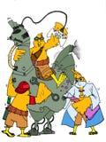 Hönakontrollrobot Royaltyfri Bild