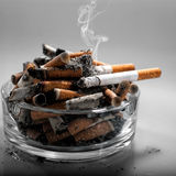 Hören Sie auf, heute zu rauchen Stockbild