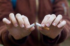 Hören Sie auf zu rauchen lizenzfreie stockfotografie