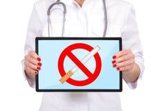 Hören Sie auf zu rauchen Stockfoto