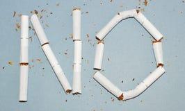 Hören Sie auf zu rauchen Lizenzfreies Stockfoto