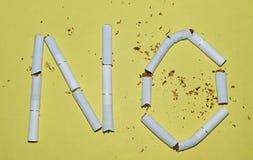 Hören Sie auf zu rauchen Lizenzfreie Stockbilder