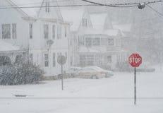 Hören Sie bitte auf zu schneien Lizenzfreie Stockfotos