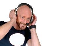 Hören Sie Musik Lizenzfreies Stockfoto