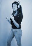 Hören zu music-7 Lizenzfreies Stockfoto