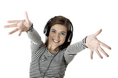 Hörende Musik Lizenzfreie Stockfotos